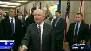 AG Jeff Sessions criticizes Washington's legal pot industry Free HD Video