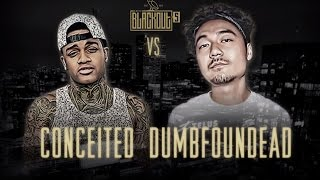 vuclip KOTD - Rap Battle - Conceited vs Dumbfoundead | #Blackout5