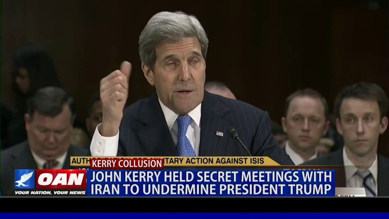 OAN John Kerry held secret meetings with Iran to undermine President Trump