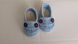 Bebek patiği yapılışı /makosen patik anlatımı/ ayakkabı görünümlü patik yapılışı/ bebekpatiği