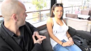 Interview de sandrine de l'amour est aveugle (TF1)