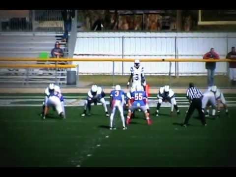 Blinn College Football 2011 Eric Mathews Qb#3 all run
