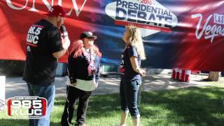 Final Presidential Debate | KLUC at UNLV