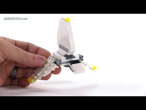Lego Star Wars Imperial Shuttle Review Mini Polybag Version 30246