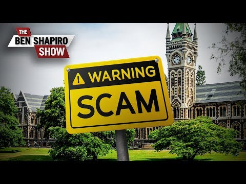 The College Scam | The Ben Shapiro Show Ep. 736