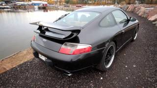 Porsche 911/996 Millenium edition carrera C4 3.4L exhaust sounds, stock