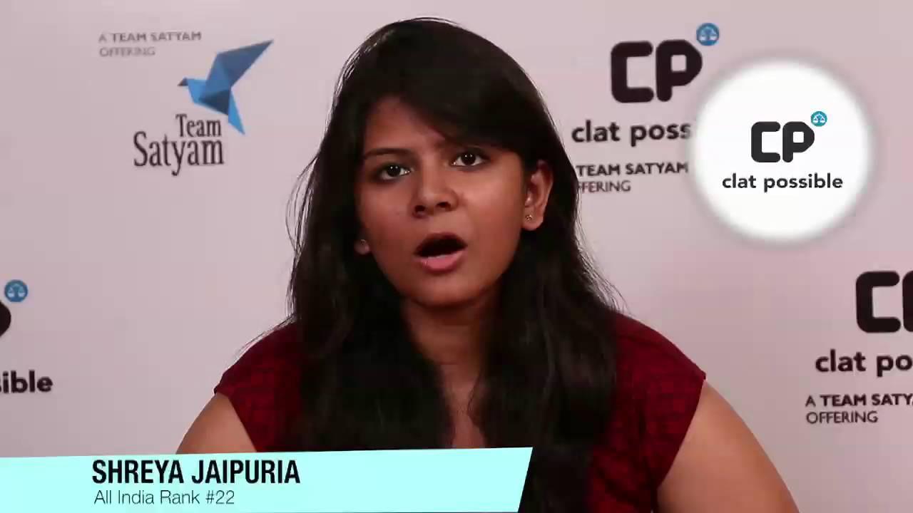 Tips, Tricks & Success Mantra for CLAT Exam by Shreya