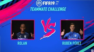 Teammate Challenge: Diego Rolan vs Rubén Pérez