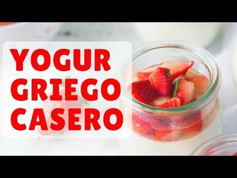 Cómo hacer YOGUR GRIEGO CASERO