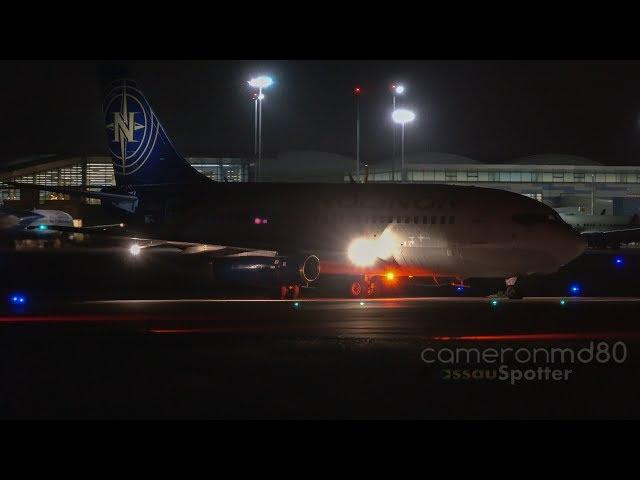 Bahamas   May/5/2019   Night Spotting   Boeing 737-200/400 Action -Nolinor and Swiftair