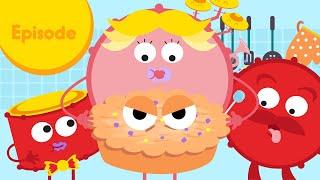 Tamborin - Noises and Sounds Breakfast - Cartoon music  for kids