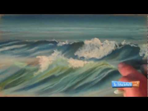 How to Draw Waves with Chalk Pastels