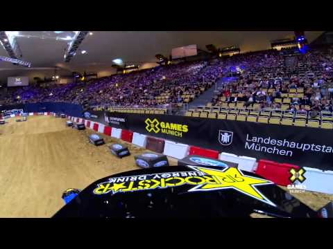 GoPro  Libor Podmol Launches to Gold   Moto X Step Up   Summer X Games 2013 Munich