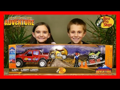 BASS PRO SHOPS DELUXE OFF-ROAD ADVENTURE PLAYSET