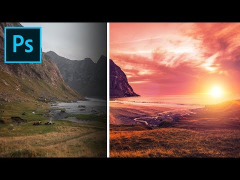 3-Step Formula for Colorful Landscapes in Photoshop! thumbnail