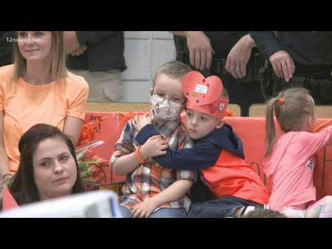 Assembly held for Augusta Ranch Elementary School student battling cancer