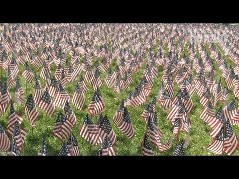 Karla Cantrell - Volunteers create moving tribute to fallen soldiers