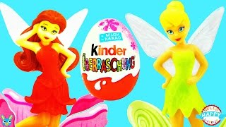 40 Kinder Surprise Eggs Disney Fairies Tinker Bell Pirate Fairy Überraschungseier