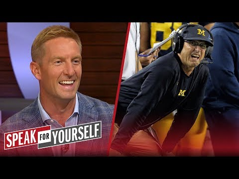 Joel Klatt weighs in on Jim Harbaugh's success at Michigan | CFB | SPEAK FOR YOURSELF