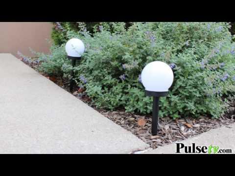 LED Solar Globe Lights