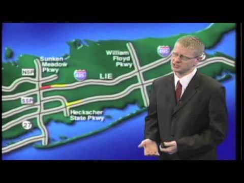 John McLaughlin on camera traffic report for News 12 Long Island - YouTube