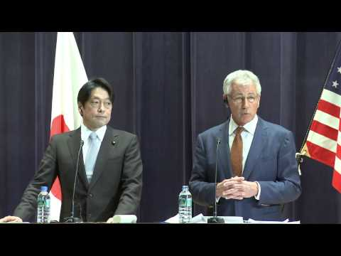 Defense Secretary Hagel Tokyo Joint Press Conference
