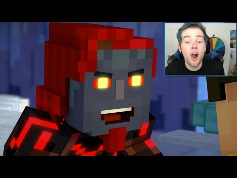 Youtubers React To The REAL ADMIN!?!? Minecraft Story Mode