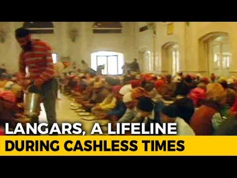 Amid Cash Crunch, Langars At Delhi Gurudwaras Witness Big ...