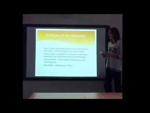 Work Experience Presentation