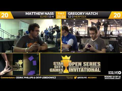 SCGINVI - Las Vegas - Round 16 - Matt Nass vs Gregory Hatch