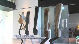 Yvelines | Voisins-le-Bretonneux : 9 artistes à la maison Decauville