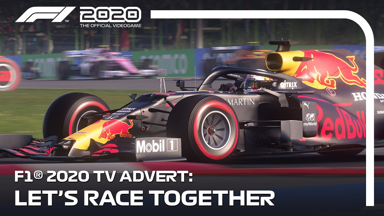 F1 2020's TV Advert: Let's Race Together