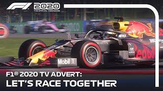 F1® 2020's TV Advert | Let's Race Together