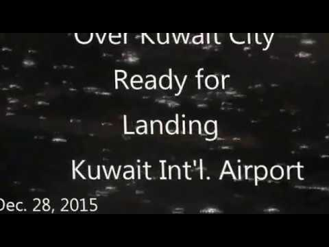 MY VACATION:Flight KU786 From Jeddah to Kuwait 12/28/2015...