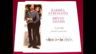 i finally found someone barbara streisand ft bryan adams   karaoke