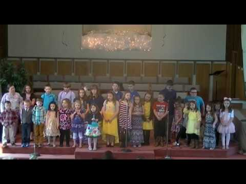 First Baptist Church Whitesburg Ky Easter Children's Choir 2015