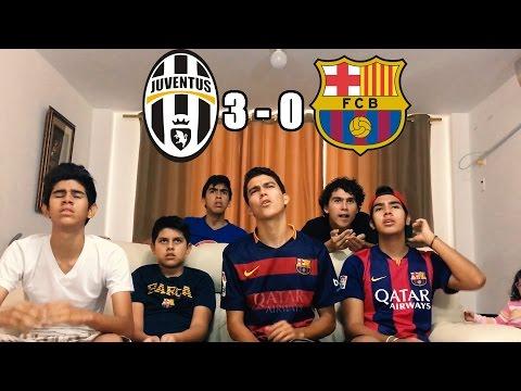 Juve Vs Barcelona 3-0 |Champions League 2017| (REACCIONES DEL PARTIDO)