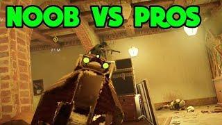 Can I Interrogate A PRO Team? - Rainbow Six Siege Gameplay