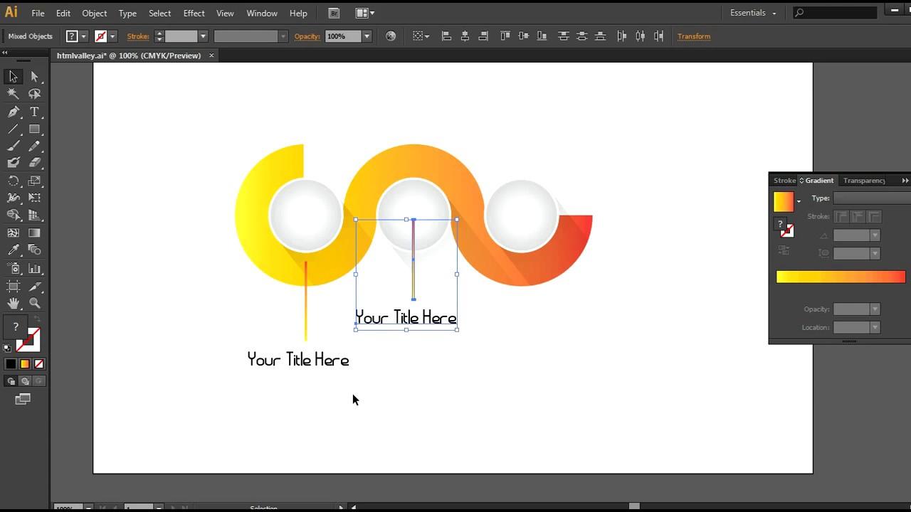 illustrator simple layout design