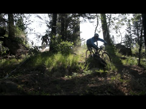 Ride My Domain visits Jug Mountain Ranch in McCall, Idaho. Great mountain bike park and clubhouse!