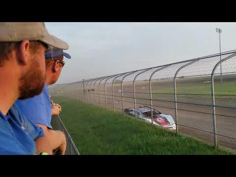 6-1-19 Junction Motor Speedway Late Model Heat Cory Dumpert