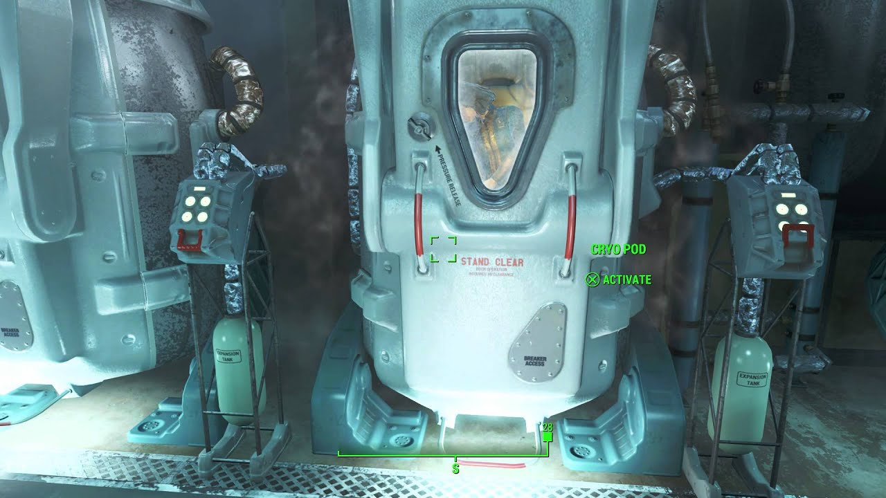 Fallout 4 Wedding Ring.Fallout 4 Out Of Time Sole Survivor Released From Cryo Pod Nora S Corpse Wedding Ring Acquired
