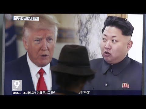 North Korea: Trump's threat was 'sound of a dog barking' – video