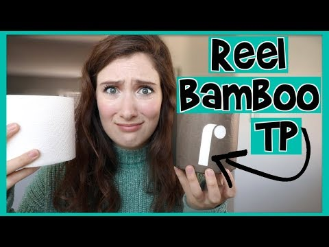 REEL Bamboo Toilet Paper Review // The Best Bamboo Toilet Paper???
