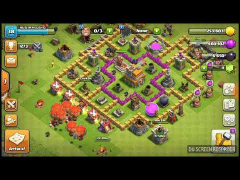 COC/TH7 BEST ATTACK STRATEGY AND BIGGER LOOT