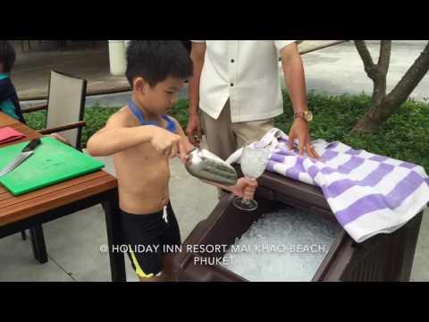 Kids Mocktail Making @ Holiday Inn Resort Mai Khao Beach, Phuket