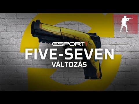 Így változik a Five-Seven