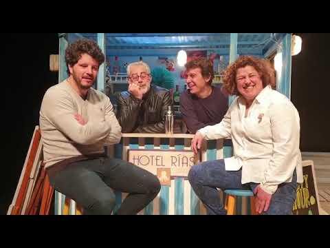 Presentación de 'Unha noite na praia' en Vilalba