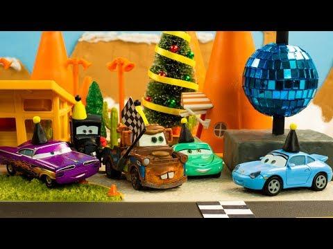 NEW YEAR DASH RACE Disney Pixar Cars Toys Movies FIREWORKS