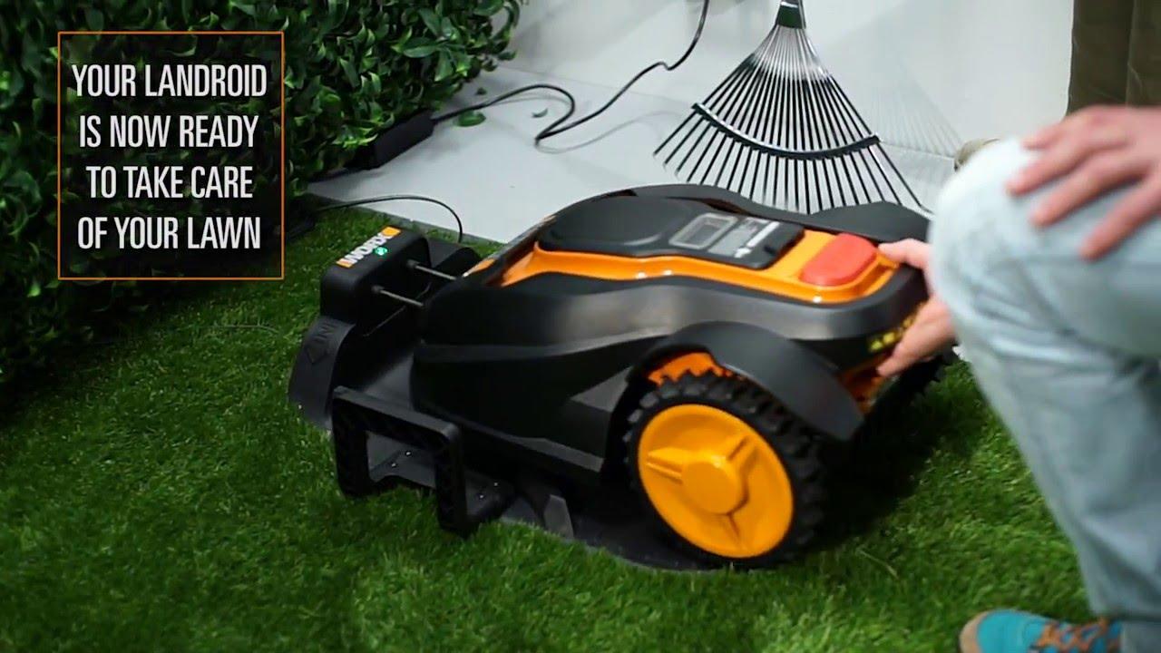 worx landroid m l robotic lawn mower installation english youtube. Black Bedroom Furniture Sets. Home Design Ideas